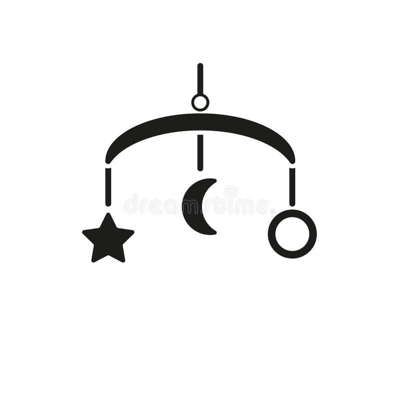 Εικονίδιο ιπποδρομίων κρεβατιών μωρών Σχέδιο Σύμβολο παιχνιδιών Ιστός γραφικός AI αποστολικό ΛΟΓΟΤΥΠΟ αντικείμενο επίπεδος εικόνα ελεύθερη απεικόνιση δικαιώματος