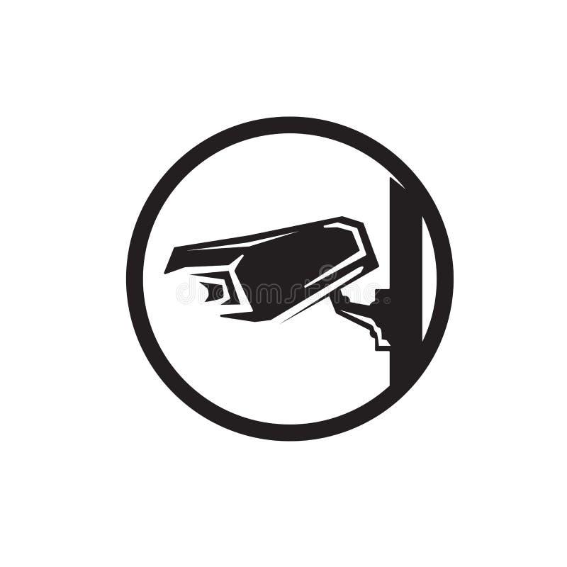 εικονίδιο καμερών CCTV διανυσματική απεικόνιση