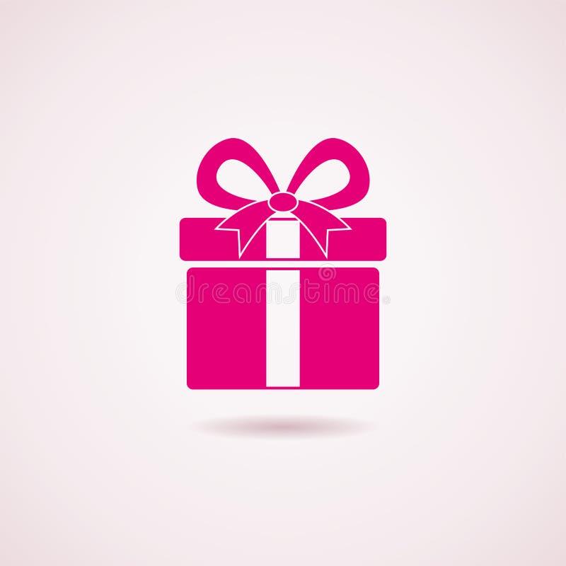 Εικονίδιο κιβωτίων δώρων ελεύθερη απεικόνιση δικαιώματος