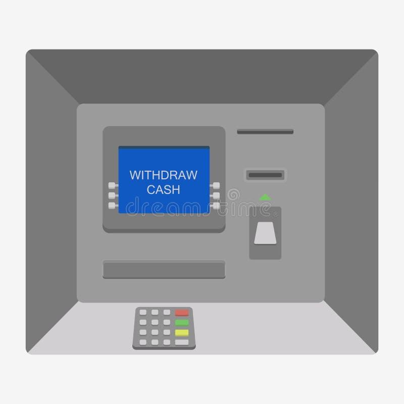 Εικονίδιο μηχανών του ATM απεικόνιση αποθεμάτων