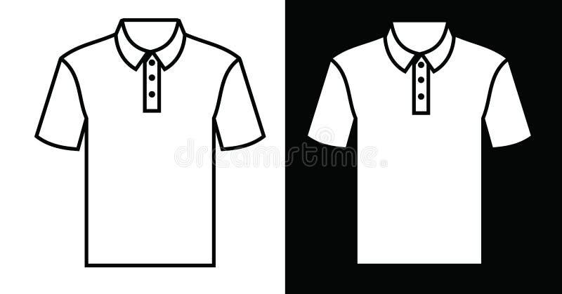 Εικονίδιο μπλουζών απεικόνιση αποθεμάτων