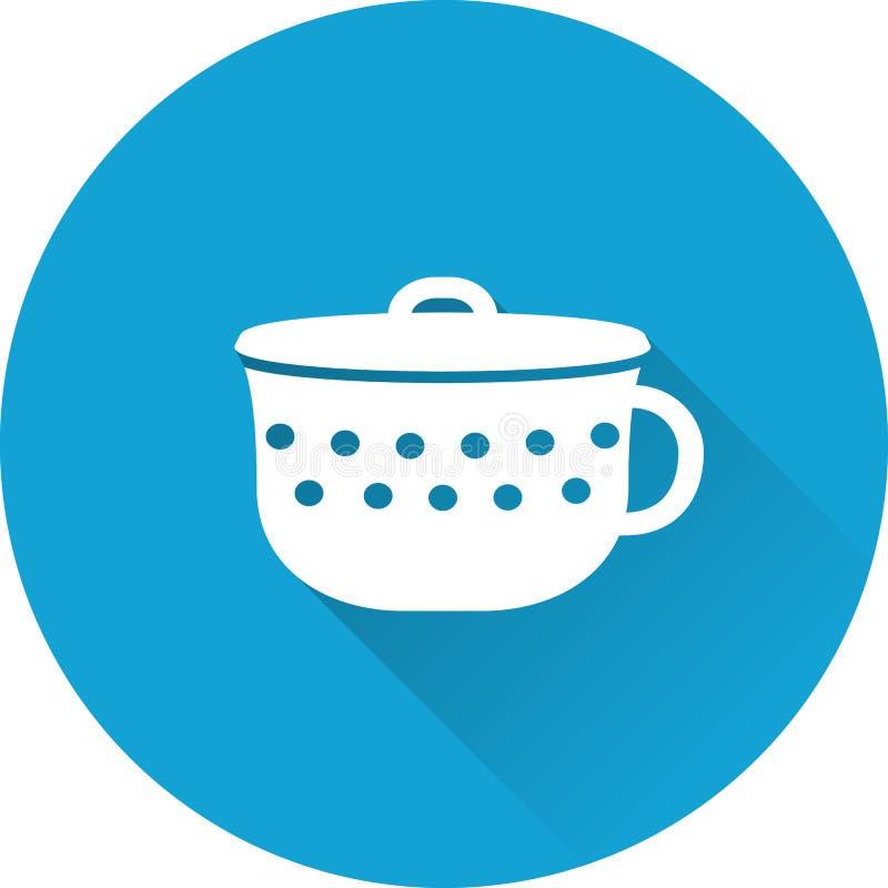 Εικονίδιο μωρών δοχείων επίσης corel σύρετε το διάνυσμα απεικόνισης απεικόνιση αποθεμάτων