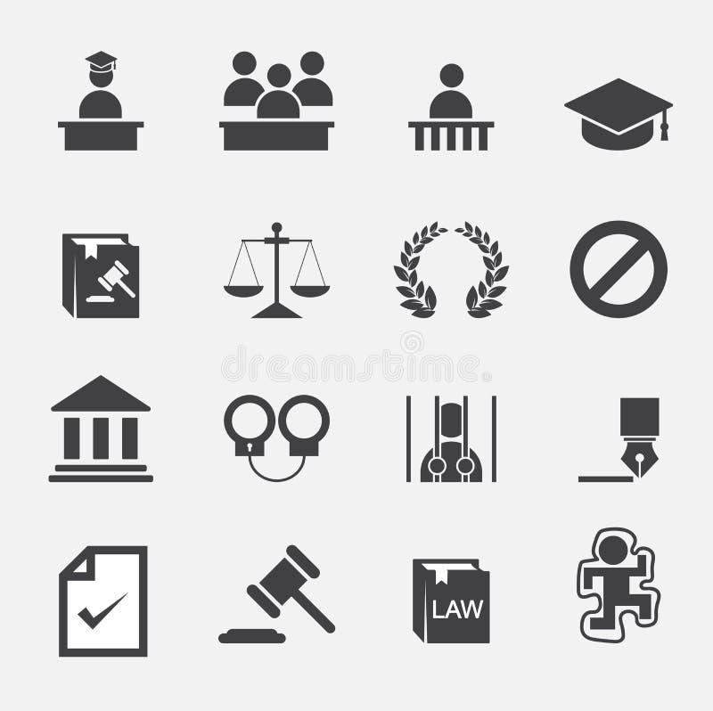 Εικονίδιο νόμου στοκ φωτογραφία με δικαίωμα ελεύθερης χρήσης