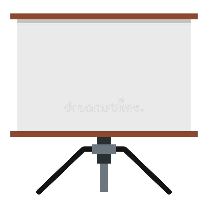 Εικονίδιο οθόνης παρουσίασης απεικόνιση αποθεμάτων