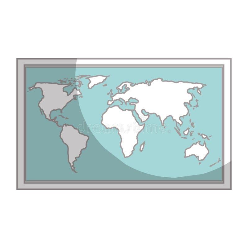 εικονίδιο οδηγών εγγράφου χαρτών ελεύθερη απεικόνιση δικαιώματος