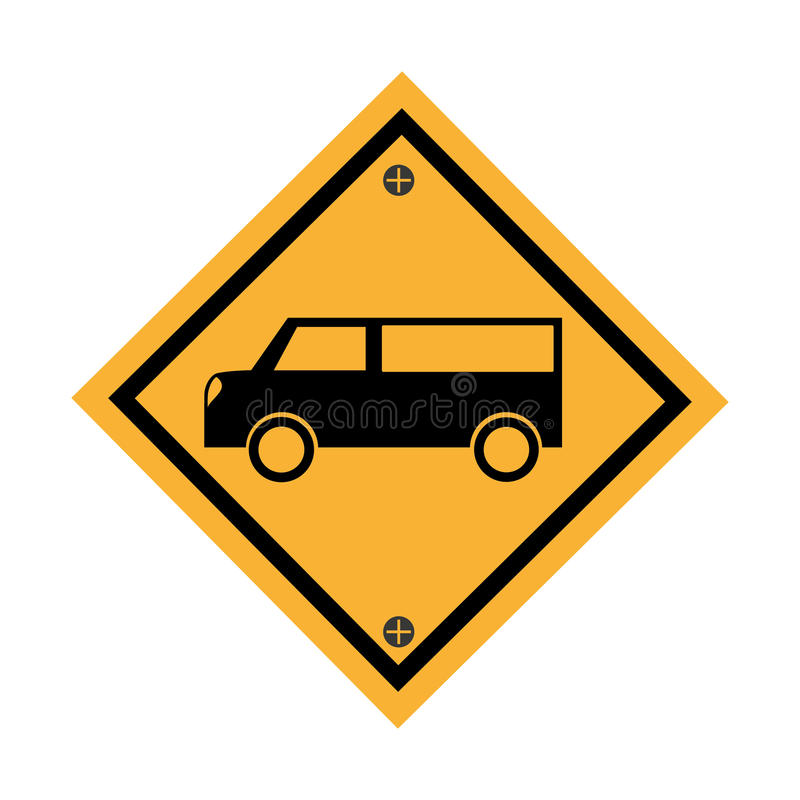 Εικονίδιο σημάτων χώρων στάθμευσης αυτοκινήτων απεικόνιση αποθεμάτων