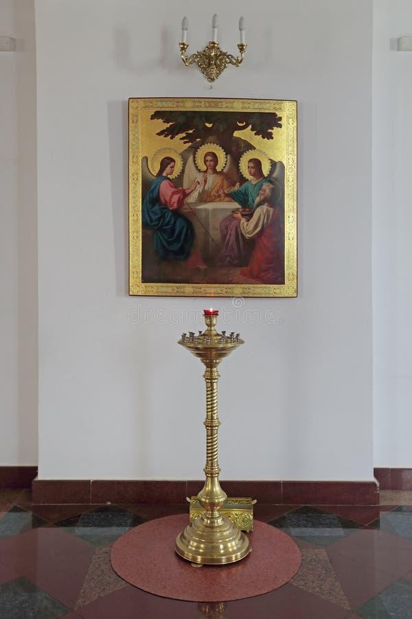 Εικονίδιο της ιερής τριάδας στοκ φωτογραφία με δικαίωμα ελεύθερης χρήσης