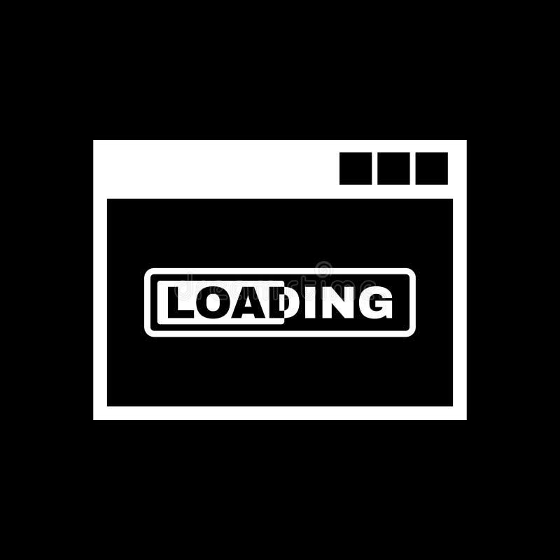 Εικονίδιο φόρτωσης eps σχεδίου 10 ανασκόπησης διάνυσμα τεχνολογίας Σύμβολο φόρτωσης Ιστός γραφικός jpg AI αποστολικό ΛΟΓΟΤΥΠΟ αντ ελεύθερη απεικόνιση δικαιώματος