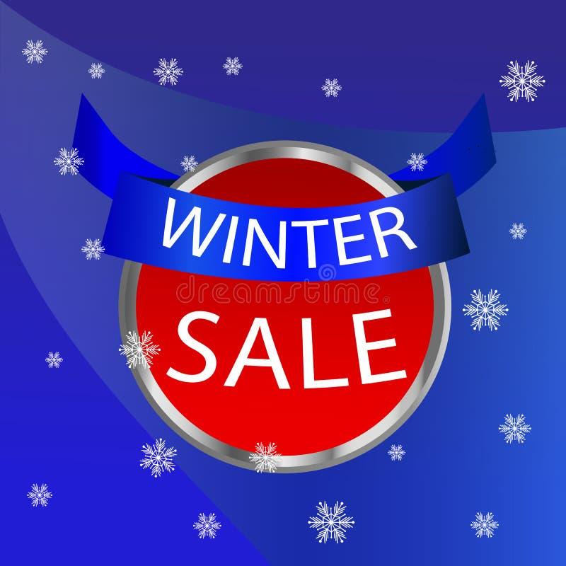 εικονίδιο χειμερινής πώλησης στοκ εικόνα