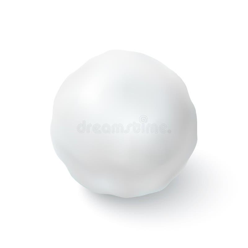 Εικονίδιο χιονιών που απομονώνεται στο άσπρο υπόβαθρο ελεύθερη απεικόνιση δικαιώματος