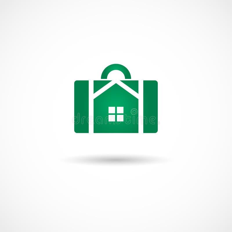 Εικονίδιο Housebag απεικόνιση αποθεμάτων