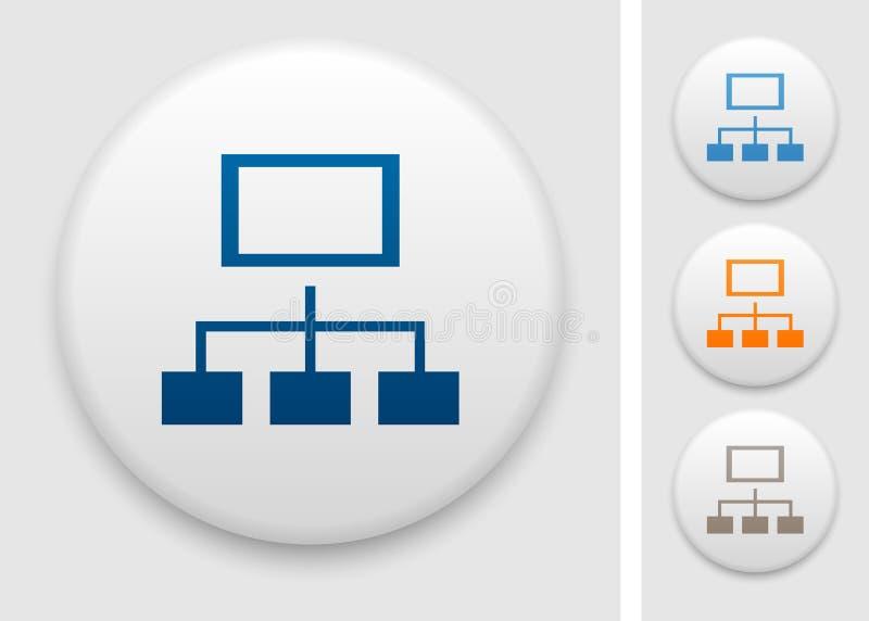 Εικονίδιο Sitemap ελεύθερη απεικόνιση δικαιώματος