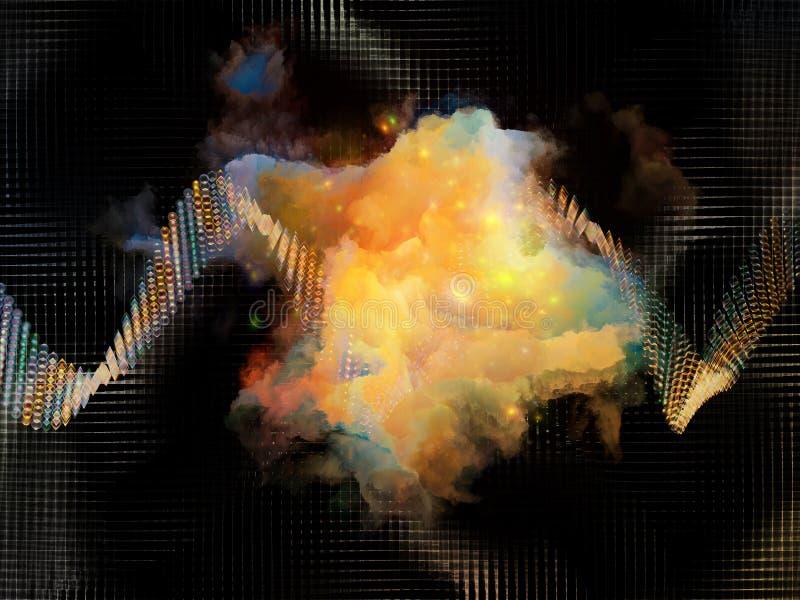 Εικονικές πρωτεΐνες διανυσματική απεικόνιση