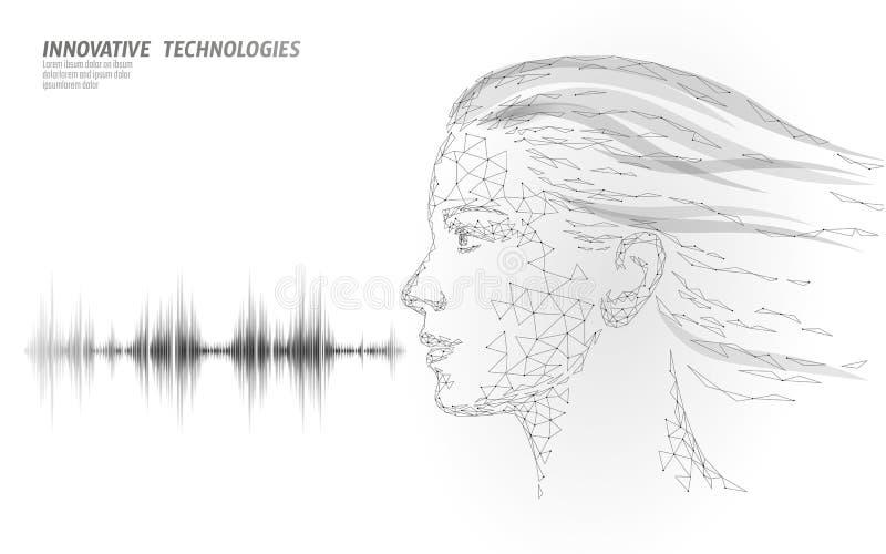 Εικονική βοηθητική τεχνολογία υπηρεσιών αναγνώρισης φωνής Υποστήριξη ρομπότ τεχνητής νοημοσύνης AI Chatbot όμορφο ελεύθερη απεικόνιση δικαιώματος