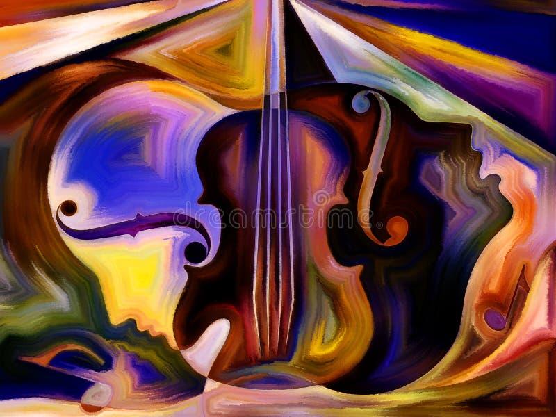 Εικονική μουσική απεικόνιση αποθεμάτων