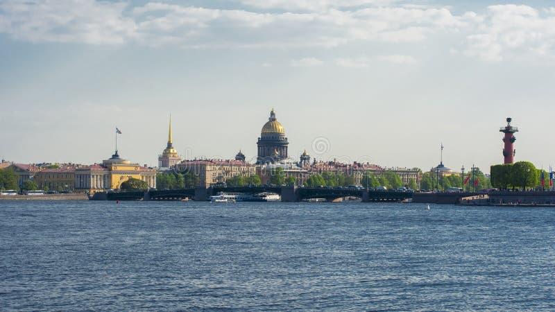 Εικονική παράσταση πόλης Αγίου Πετρούπολη, Ρωσία στοκ φωτογραφία