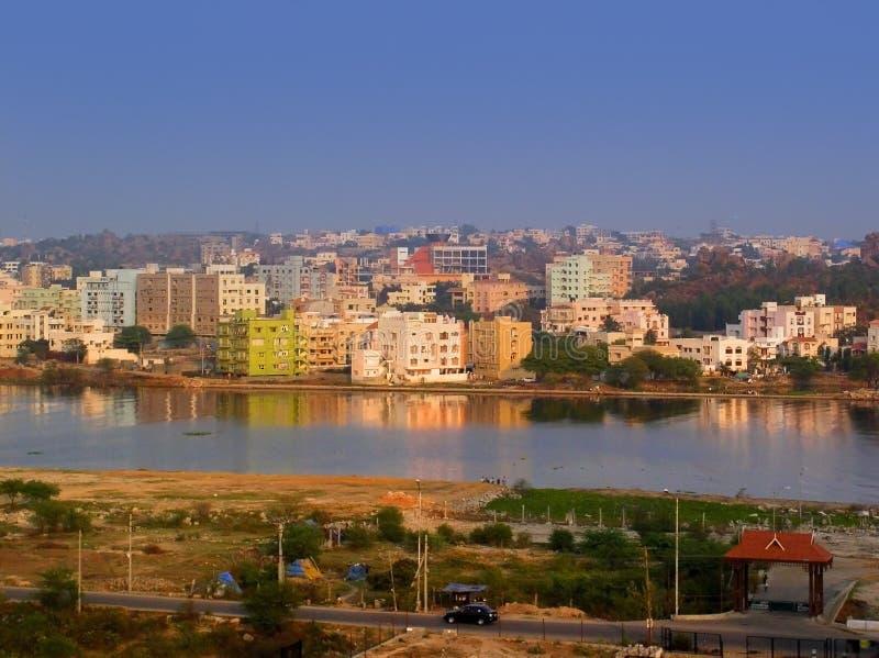 εικονική παράσταση πόλης Ινδός στοκ εικόνα