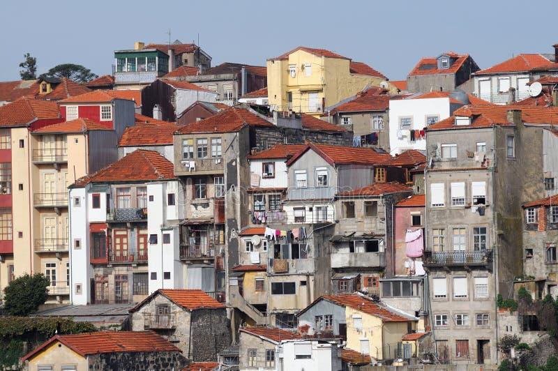 εικονική παράσταση πόλης Πόρτο στοκ εικόνες με δικαίωμα ελεύθερης χρήσης