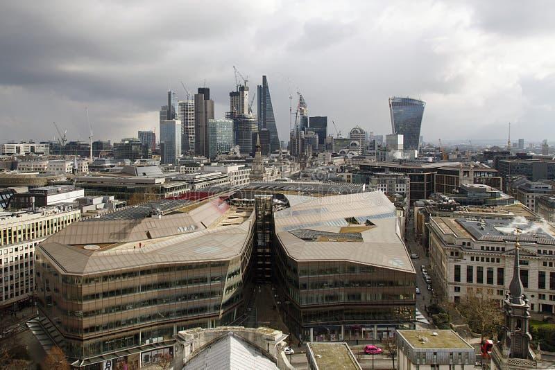 Εικονική παράσταση πόλης του μεγαλύτερου Λονδίνου στοκ φωτογραφία