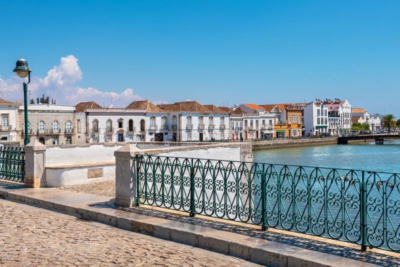 Εικονική παράσταση πόλης του Ταβίρα Αλγκάρβε Πορτογαλία στοκ φωτογραφίες με δικαίωμα ελεύθερης χρήσης