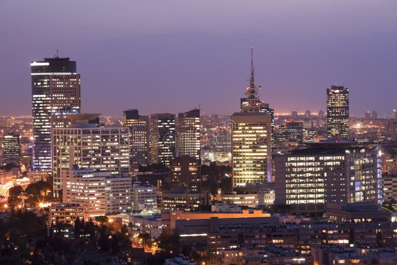Εικονική παράσταση πόλης στοκ φωτογραφία