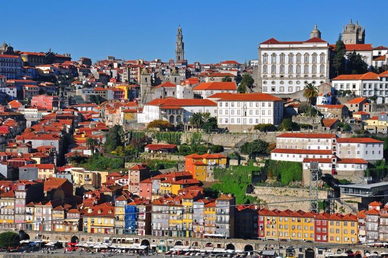 Εικονική παράσταση πόλης του Οπόρτο στοκ εικόνες με δικαίωμα ελεύθερης χρήσης
