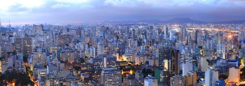 Εικονική παράσταση πόλης του Σάο Πάολο στοκ εικόνες με δικαίωμα ελεύθερης χρήσης