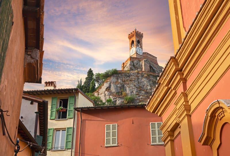 Εικονική παράσταση πόλης Brisighella, Αιμιλία-Ρωμανία, Ιταλία στοκ εικόνες