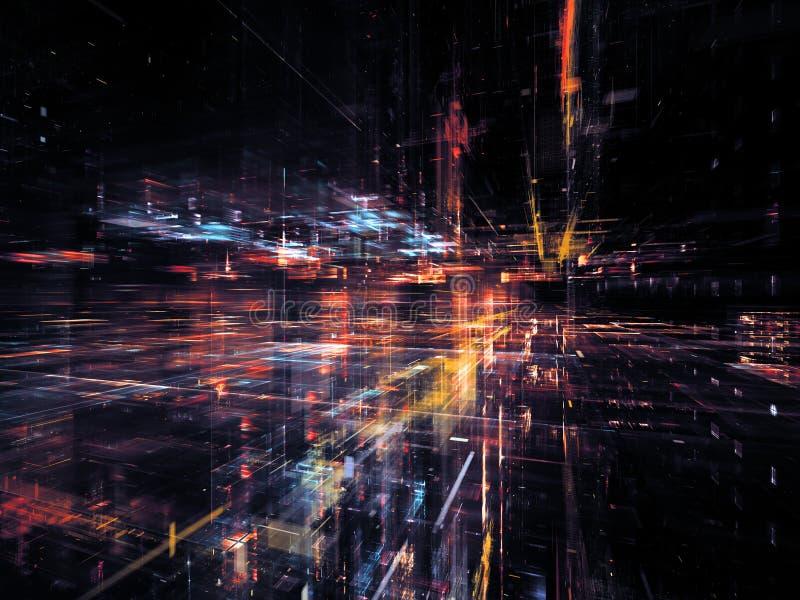 Εικονική τεχνολογία στοκ εικόνα με δικαίωμα ελεύθερης χρήσης