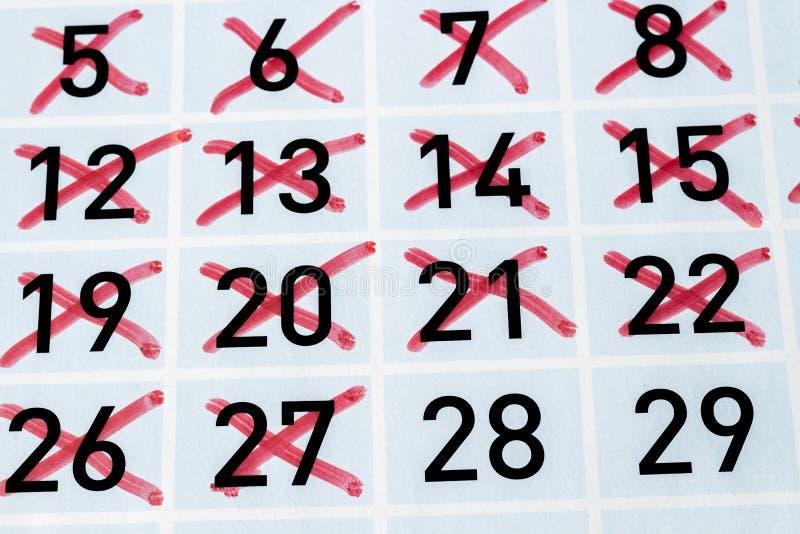 Εικοστή όγδοη ημέρα αυτού του μήνα στοκ φωτογραφίες με δικαίωμα ελεύθερης χρήσης