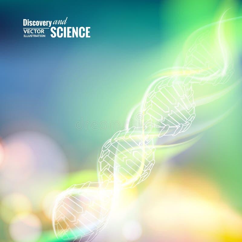 Εικόνα έννοιας επιστήμης διανυσματική απεικόνιση