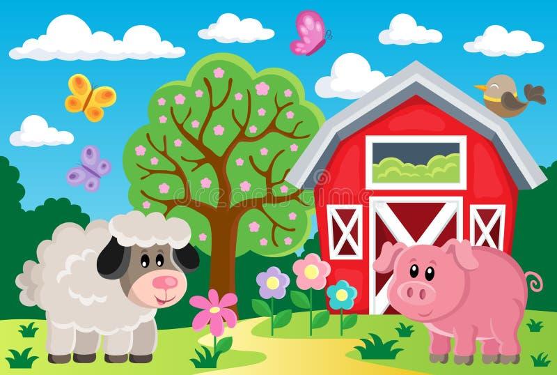 Εικόνα 4 αγροτικού θέματος απεικόνιση αποθεμάτων