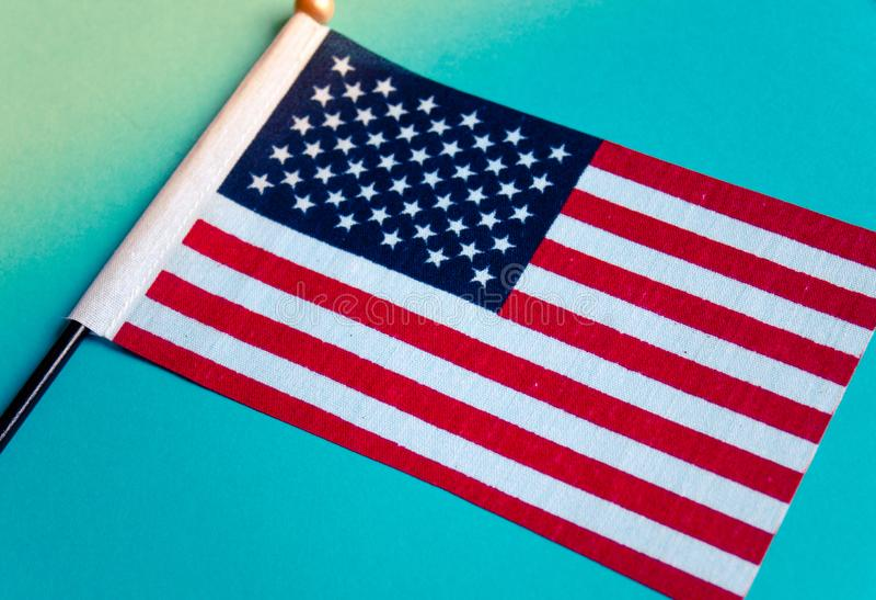Εικόνα αμερικανικών σημαιών στοκ εικόνες με δικαίωμα ελεύθερης χρήσης