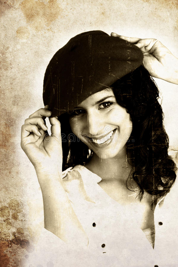 Εικόνα ενός brunette. στοκ εικόνες με δικαίωμα ελεύθερης χρήσης
