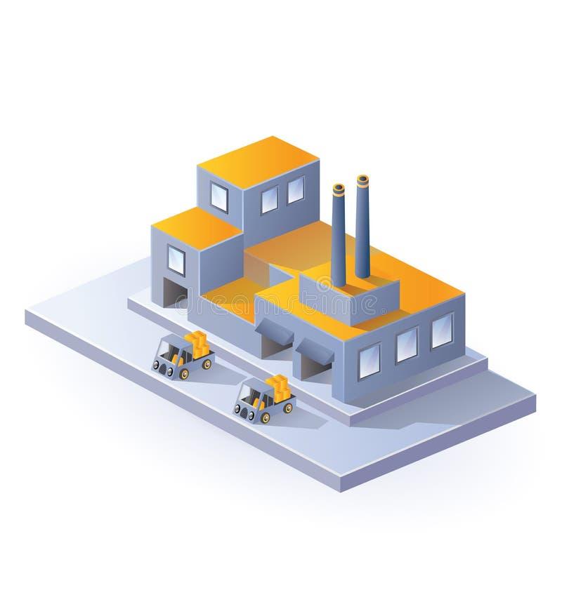 εικόνα εργοστασίων απεικόνιση αποθεμάτων