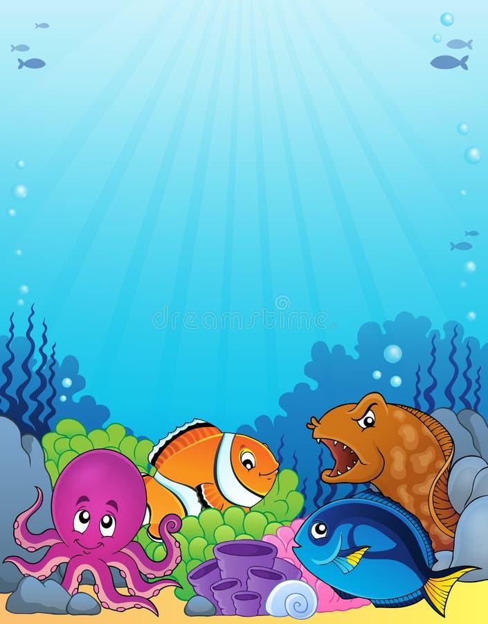 Εικόνα 1 θέματος πανίδας κοραλλιών απεικόνιση αποθεμάτων