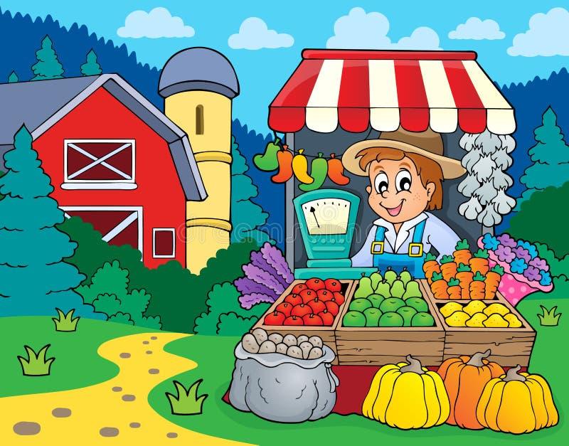 Εικόνα 2 θέματος της Farmer απεικόνιση αποθεμάτων