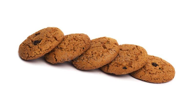 Εικόνα κινηματογραφήσεων σε πρώτο πλάνο των μπισκότων τσιπ σοκολάτας στοκ φωτογραφίες με δικαίωμα ελεύθερης χρήσης