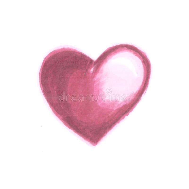 Εικόνα κόκκινης καρδιάς στοκ εικόνες