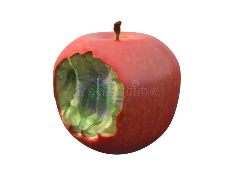 Εικόνα μήλων δηλητήριων απεικόνιση αποθεμάτων