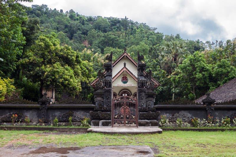 Εικόνα μιας καθολικής εκκλησίας στο Μπαλί στοκ εικόνες με δικαίωμα ελεύθερης χρήσης