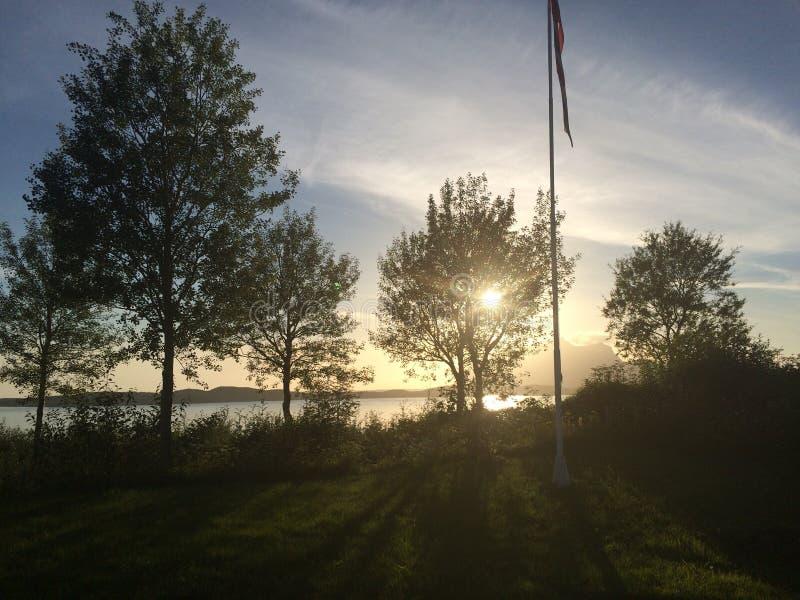 Εικόνα που λαμβάνεται από την ιδιοκτησία μας σε Inndyr, Gildeskaal στο βόρειο τμήμα της Νορβηγίας στοκ εικόνα με δικαίωμα ελεύθερης χρήσης