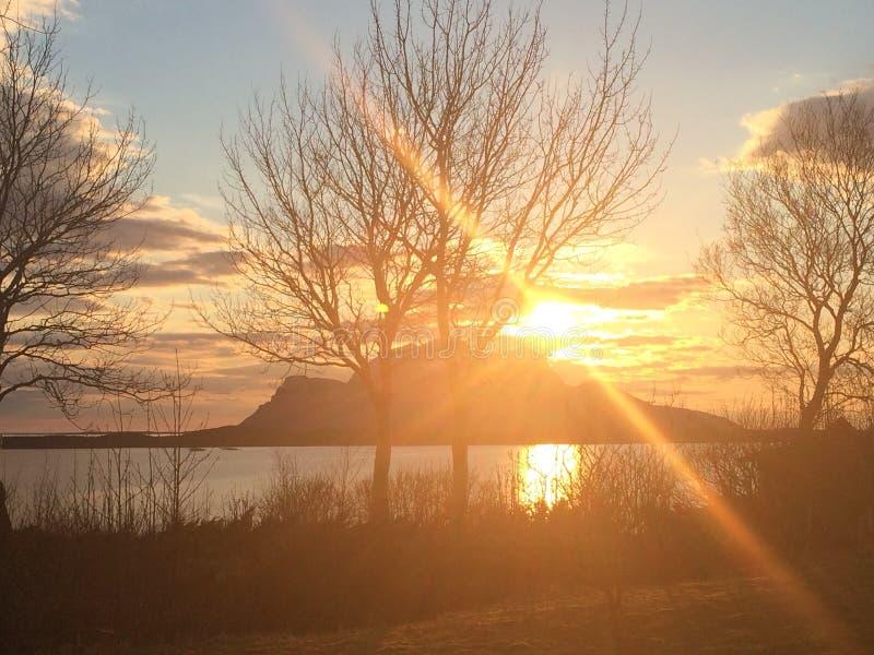 Εικόνα που λαμβάνεται από την ιδιοκτησία μας σε Inndyr, Gildeskaal στο βόρειο τμήμα της Νορβηγίας στοκ εικόνες με δικαίωμα ελεύθερης χρήσης