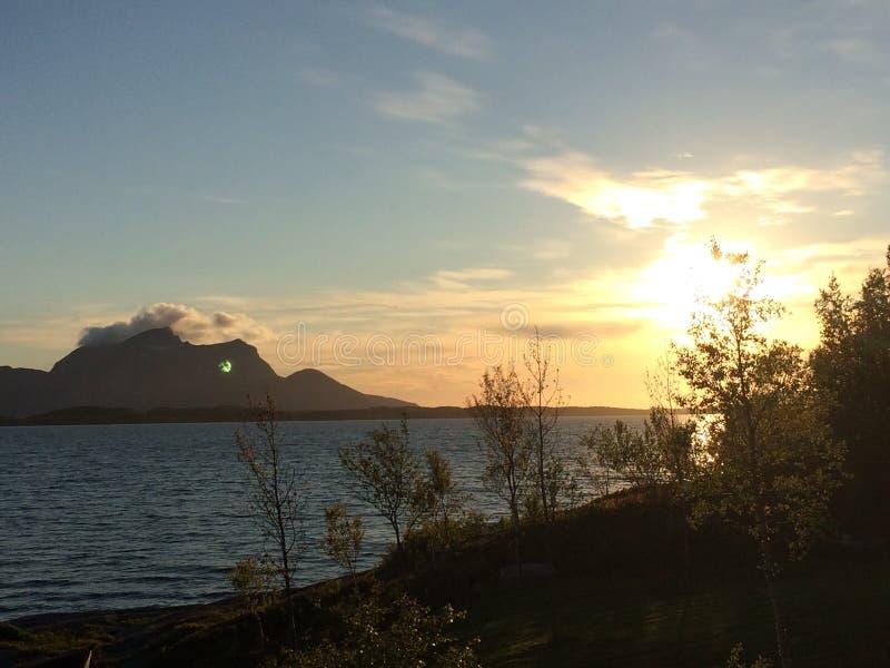 Εικόνα που λαμβάνεται από την ιδιοκτησία μας σε Inndyr, Gildeskaal στο βόρειο τμήμα της Νορβηγίας στοκ φωτογραφίες με δικαίωμα ελεύθερης χρήσης