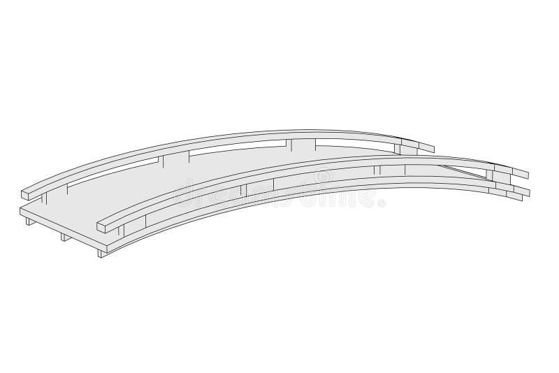 Εικόνα της γέφυρας (στοιχείο αρχιτεκτονικής) ελεύθερη απεικόνιση δικαιώματος