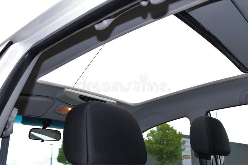 Εικόνα της πόρτας sunroof με το γυαλί στοκ φωτογραφίες με δικαίωμα ελεύθερης χρήσης