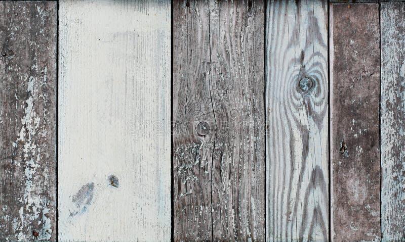 Εικόνα της χρωματισμένης μπλε ξεπερασμένης εκλεκτής ποιότητας ξύλινης επιτροπής στοκ φωτογραφία
