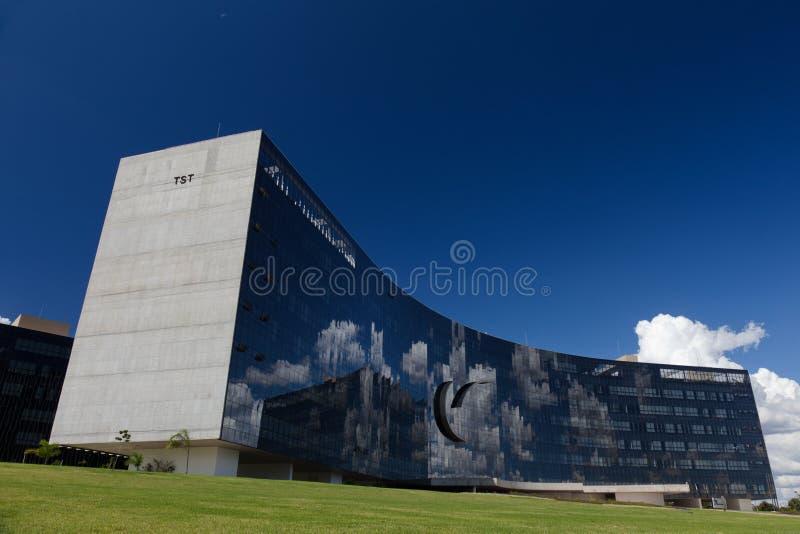 Ανώτερο δικαστήριο εργασίας στη Μπραζίλια στοκ εικόνες