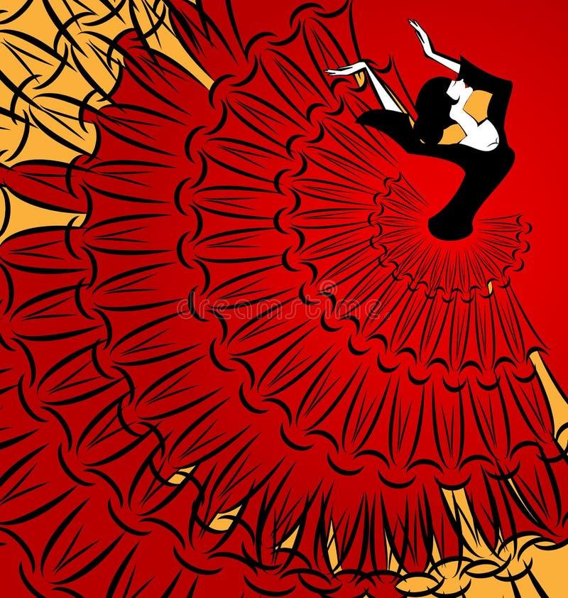 Εικόνα του αφηρημένου χορευτή ελεύθερη απεικόνιση δικαιώματος