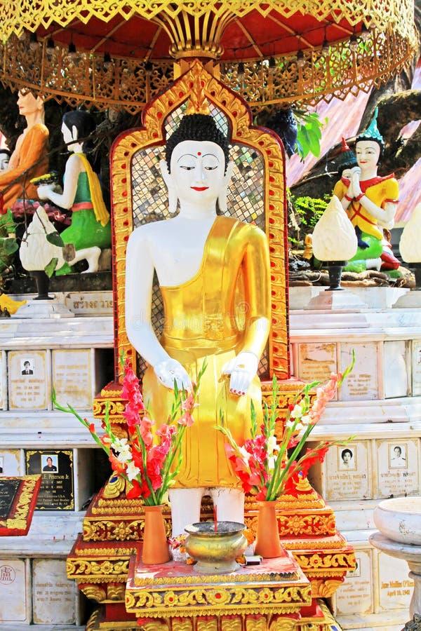 Εικόνα του Βούδα σε Wat Phra που Doi Suthep, Chiang Mai, Ταϊλάνδη στοκ εικόνες με δικαίωμα ελεύθερης χρήσης